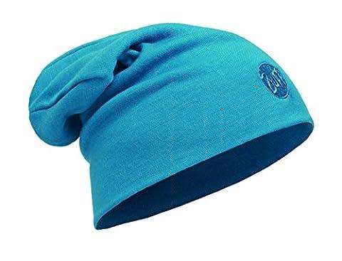 Buff Erwachsene Merino Wool Thermal Hat Slouchy Mütze, Solid Ocean, One Size