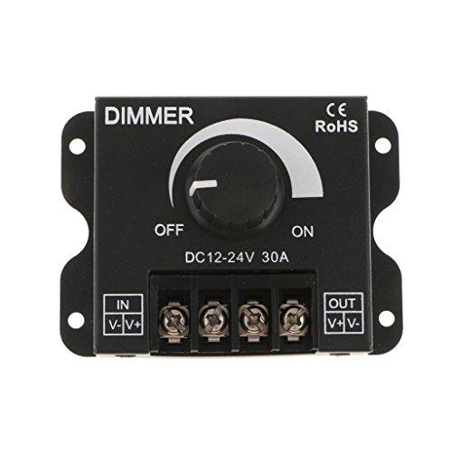 PETSOLA DC12V 24V LED Rotary Dimmer Controller Switch Modul Für LED Lights - Light Switch Rotary