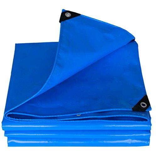 La bâche imperméable extérieure de bâche de pluie d'asphalte de canevas de toile multi-usages d'huile/imperméable/ignifuge de couteau de PVC grattent le tissu 500 g/mètre carré (Size : 4m×4M)