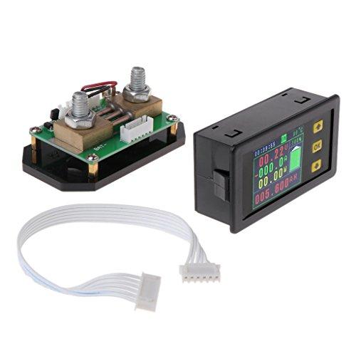 Besttse DC120V LCD Combo Meter, Spannungsstromüberwachung, 100 A, 200 A, 300 A, 500 A -