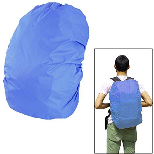 45 - 50 L capacità durevole campeggio escursionismo zaino zaino scuola borsa sacchetto antipioggia impermeabile copertina blu Blu