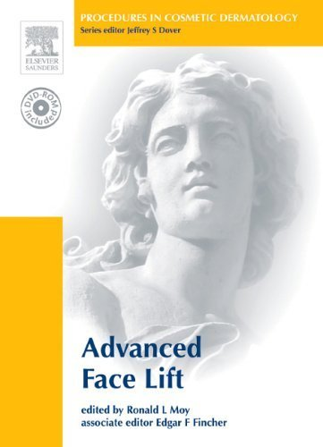 Procedures in Cosmetic Dermatology Series: Advanced Face Lifting: Textbook with DVD by Ronald L. Moy (2006-07-06)