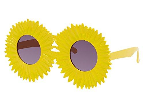 Sonnenblume (Sonnenbrille Funbrille Spaßbrile Partybrille verschiedene Sorten 41, wählen:F-041 Sonnenblume)