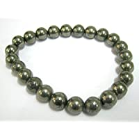Schöne goldene Pyrit Power Perlen Armband Edelstein Fashion Wicca Jewelry Crystal Healing Geschenk Wellness Meditation... preisvergleich bei billige-tabletten.eu