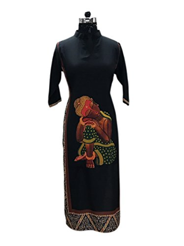 KURTI FOR WOMEN BLACK (BCK -16)