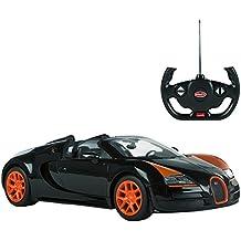 Rastar - Coche teledirigido 1:14 Bugatti Veyron Gran Sport Vitesse, color negro, 1 (Baby 85207)