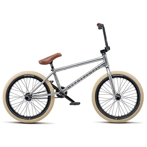 "41LdFpAGngL. SS500  - Wethepeople Battleship 20"" 2019 Freestyle BMX Bike (Brushed Raw - Left hand drive)"
