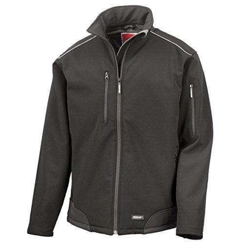 Result Work-Guard Antidéchirures softshell veste vêtement de travail Noir/ Noir