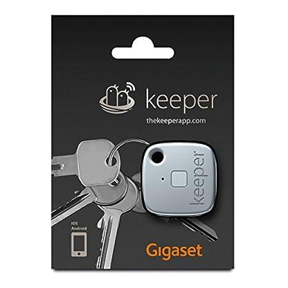Gigaset-Keeper-Schlsselfinder-mit-Bluetooth-Beacon-und-Signalton-LED-Licht-Zum-Finden-des-Schlssels