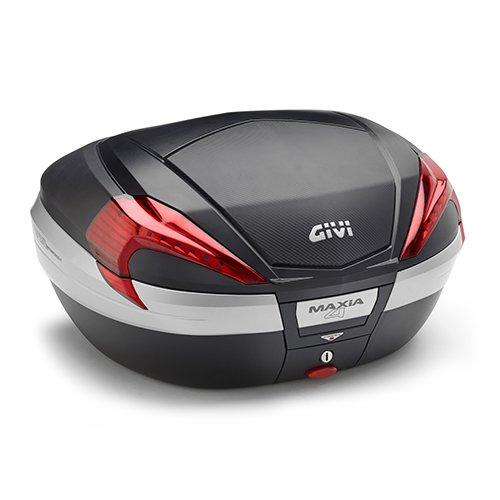 Givi V56NN Maxia 4 Monokey Bauletto in effetto carbonio con riflettori rossi