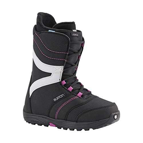 Burton Damen Snowboardboot Coco, Black/Purple, 7, 10644102026