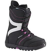 Burton Coco–Botas de Snowboard Negro Negro/Morado
