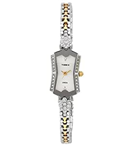 Timex Empera Analog Silver Dial Women's Watch - TI00B602H00