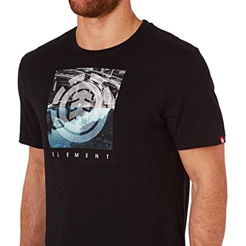 Element Herren T-Shirt Flow Schwarz