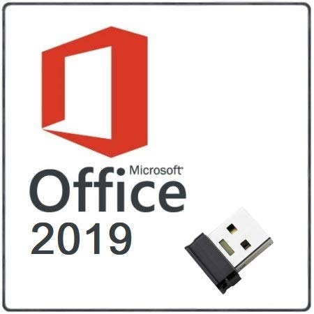 Microsoft Office 2019 Professional Plus para 1 PC. Solo para Windows 10. Licencia perpetua. Envio por email