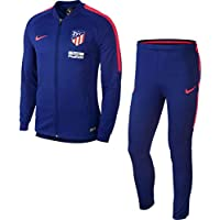 Nike ATM M NK Dry SQD TRK K Chándal, Hombre, Azul (Deep Royal Blue/Bright Crimson), XL