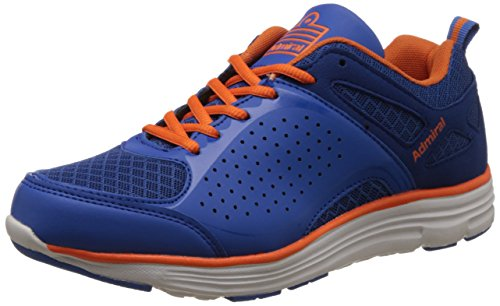 Admiral Men's Varyl Royal Blue Orange Running Shoes - 8 UK/India (42 EU)(11-40003 Rog)