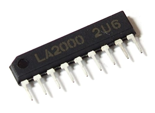 Sanyo LA2000 Audio Level Sensor / Audiopegel-Sensor IC SIP-9-Pin 14V 12mA 540mW (Generalüberholt)