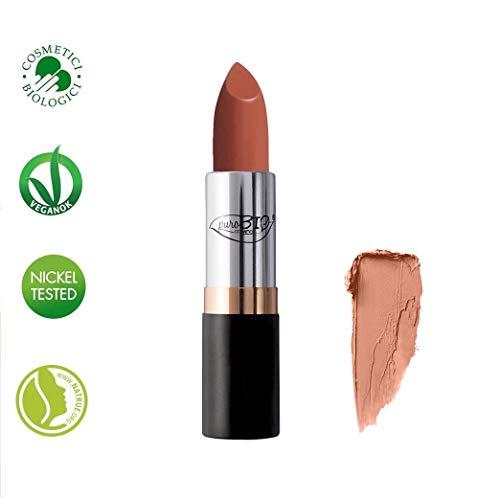 PUROBIO - Lippenstift , Lipstick - 01 Heller Pfirsich - BIO, Vegan, Nickel Tested, Hergestellt in...