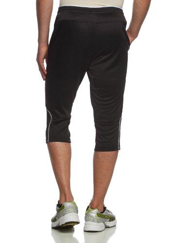 Puma Men s 3 4 Training Knitted Pants - Black-White  X-Large