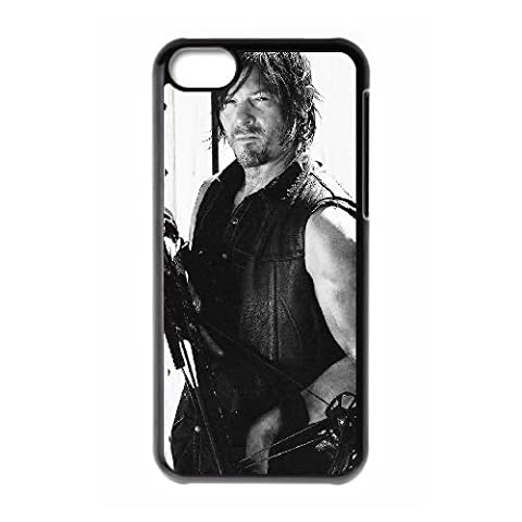 Daryl Walking Dead Staffel O5T35J4TC iPod Touch 6 Fall Hülle schwarz P7J2W5 (Staffel 4 Walking Dead)