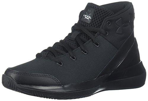 Under Armour Jungen UA BGS X Level Ninja Basketballschuhe, Schwarz (Black 003), 38 EU