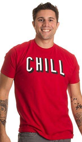 «Netflix and Chill» (¿Una peli y lo Que surja?) - Diseño Divertido - Humor Picante - Camiseta para Hombre Grandes Rojo - Grandes - L