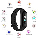 NALMAK Sweatproof Smart Fitness Wrist Band with Heart Rate Sensor for Samsung