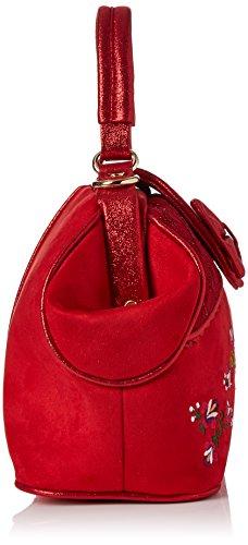 Irregular Choice Damen Field of Dreams Bag Shopper, Rot (Red), 13x20x30 centimeters - 3