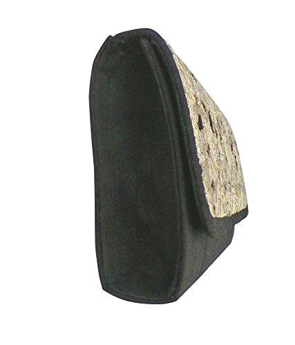 Bhamini - Borsetta senza manici donna Nero (nero)