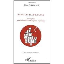 Enfances plurilingues