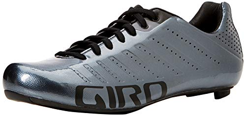 Giro Empire SLX Road, Zapatos de Ciclismo de Carretera para Hombre, (Metallic Charcoal 000), 44.5 EU