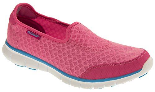 Gola Femmes Mystic 2 ALA700 Course Super-légers et de Formation de remise en forme Chaussures Rose - Pink and Blue