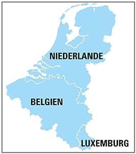Falk Premium Carte Benelux loisirs pour GPS Ibex et Lux