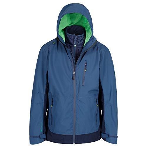 Regatta Herren Wentwood III 3 in 1 Waterproof and Breathable with Zip-Out Fleece Jacke, Dark Denim, XXXXL