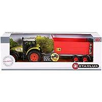 Starlux - Coffret Tracteur Claas Celtis 456 et Epandeur - Gamme Ferme - 1:32e