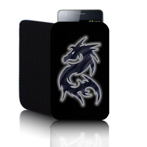Biz-E-Bee Phonecase Exclusif 'Dragon' noir Nokia Lumia 610(M) résistant aux chocs en néoprène pour Téléphone portable, Housse, Pochette