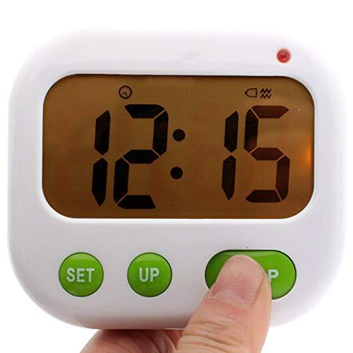 ACAMPTAR Despertador de Vibración Temporizador Digital LED Luminova Reloj de Caramelo Electrónico...