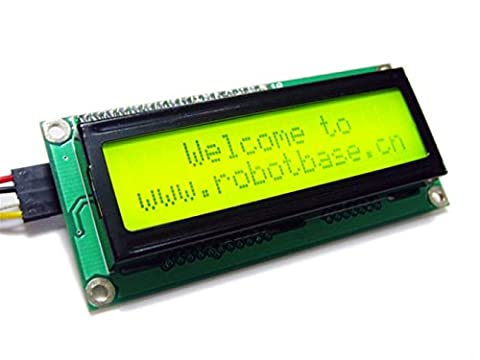 I2C/TWI LCD1602 Module for Arduino Controller/The 2 line 16 character LCD module, not only set the contrast adjustment knob, also has a backlight switch and IIC communication interface
