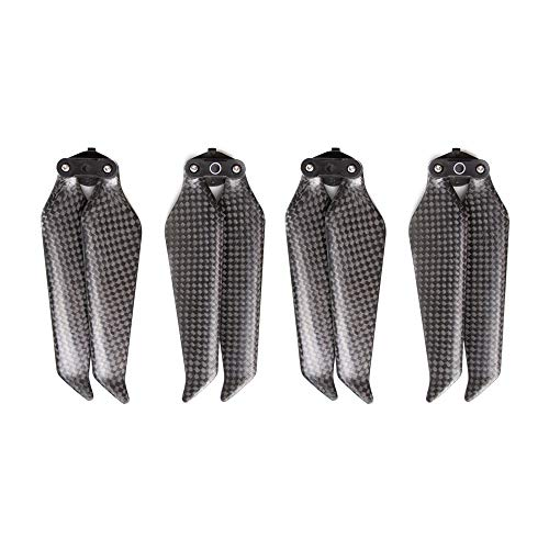 O'Now 2 8743F Foldable Carbon Pairs 2F Fiber Propellers Noise Reduction Quick Release CW / & CCW Props for dji Mavic XNUMX Pro / Zoom