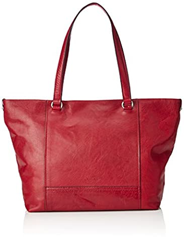 Gerry Weber Damen Lugano Shopper Lhz Schultertasche, Rot (Red), 13 x 30 x 46 cm