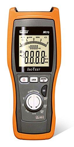 HT-Instruments Digitales Multimeter mit Isolationsmessung 1KV und Niederoh mmessung, M70