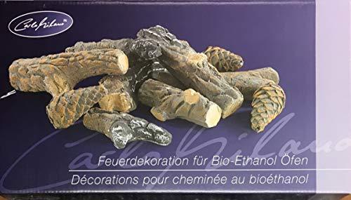 Carlo Milano - Decoración para Chimenea de Bio-Ethanol, diseño de Ramas y...