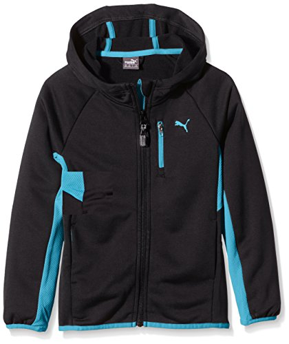 PUMA Kinder Jacke Active Cell Hooded Jacket B, Black, 140, 836761 01