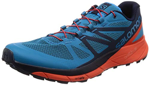 Salomon Sense Ride Trail Running Shoes - AW18-9.5 Blue e8d09898567