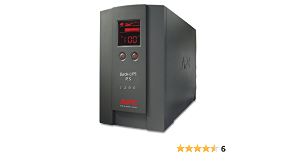 Apc Br1200lcdi Back Ups Rs 1200va 720w 230v Lcd Computer Zubehör