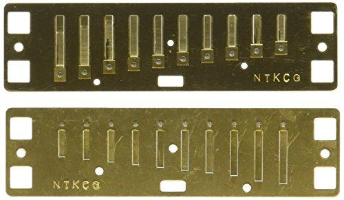 Lee Oskar 797110 Major Diatonic G-Dur Ersatzstimmplatte Mundharmonika (Lee Oskar Mundharmonika G)