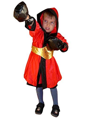 Seruna To81/00 Gr. 98-104 Boxer Kostüm für Fasching und Karneval, Kostüme für Kinder, Faschingskostüm, Karnevalkostüm