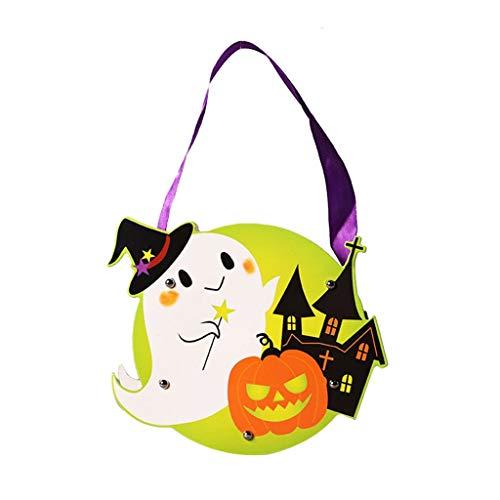 Peppa Für Schwein Erwachsene Kostüm - Iwähle)♥ Halloween Kürbis Pappsüßigkeits Taschen Strahln Hafen Zugschnur Taschen Partei Geschenk Tasche (G)