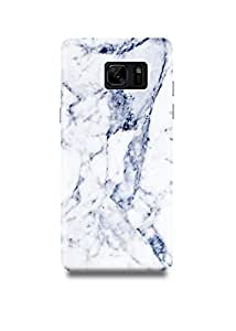 Shopmetro White & Grey Marble Samsung Note 7 Case-1116